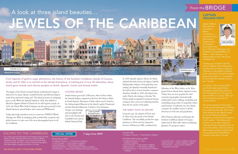 caribbean page princess