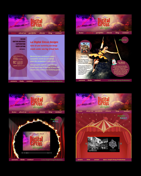 digital circus designs samples flat
