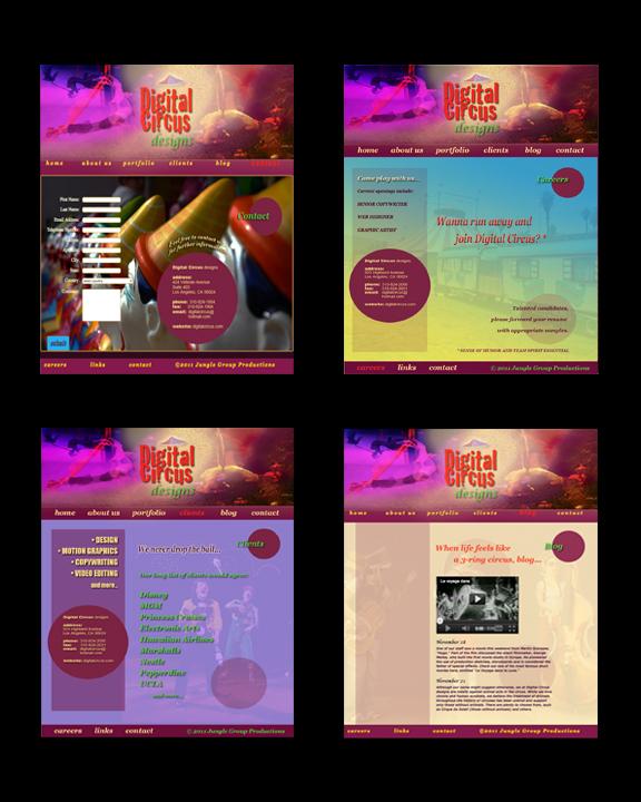 Digital Circus Designs Samples2flat