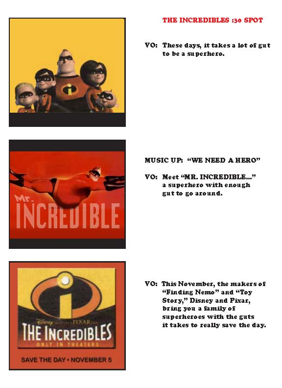 incredibles web