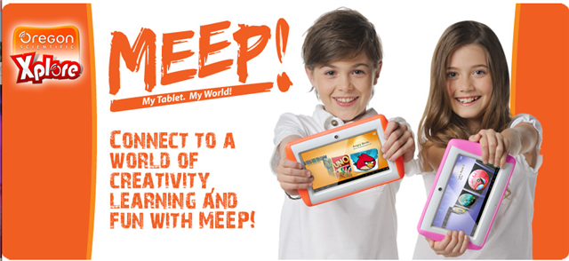 meep banner ad
