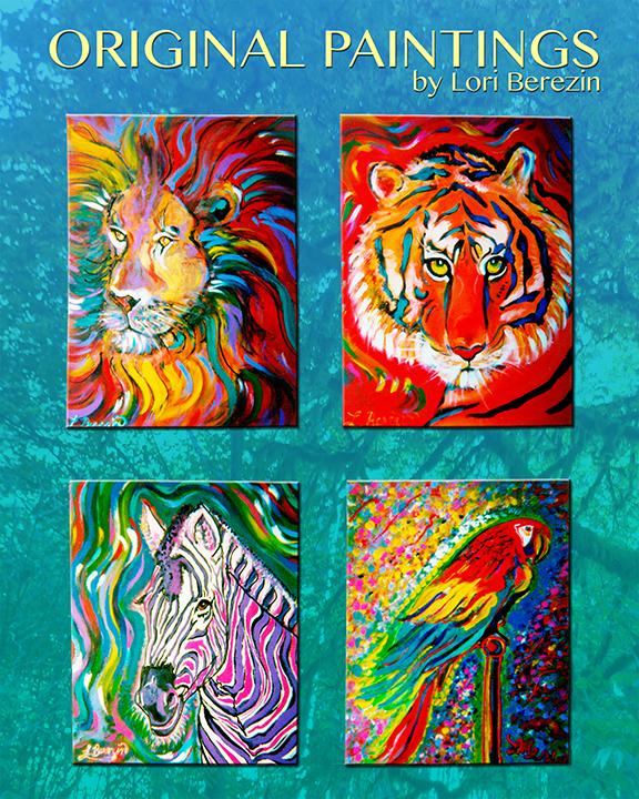 Original Paintings LBerezin72