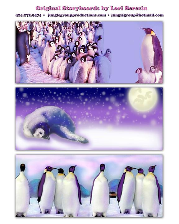 Penguin Storyboards LBerezin72
